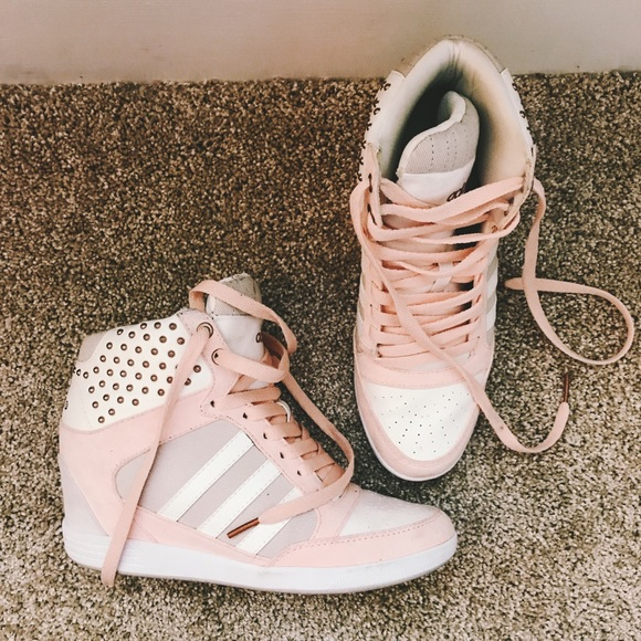 Women's Adidas Wedge Sneaker